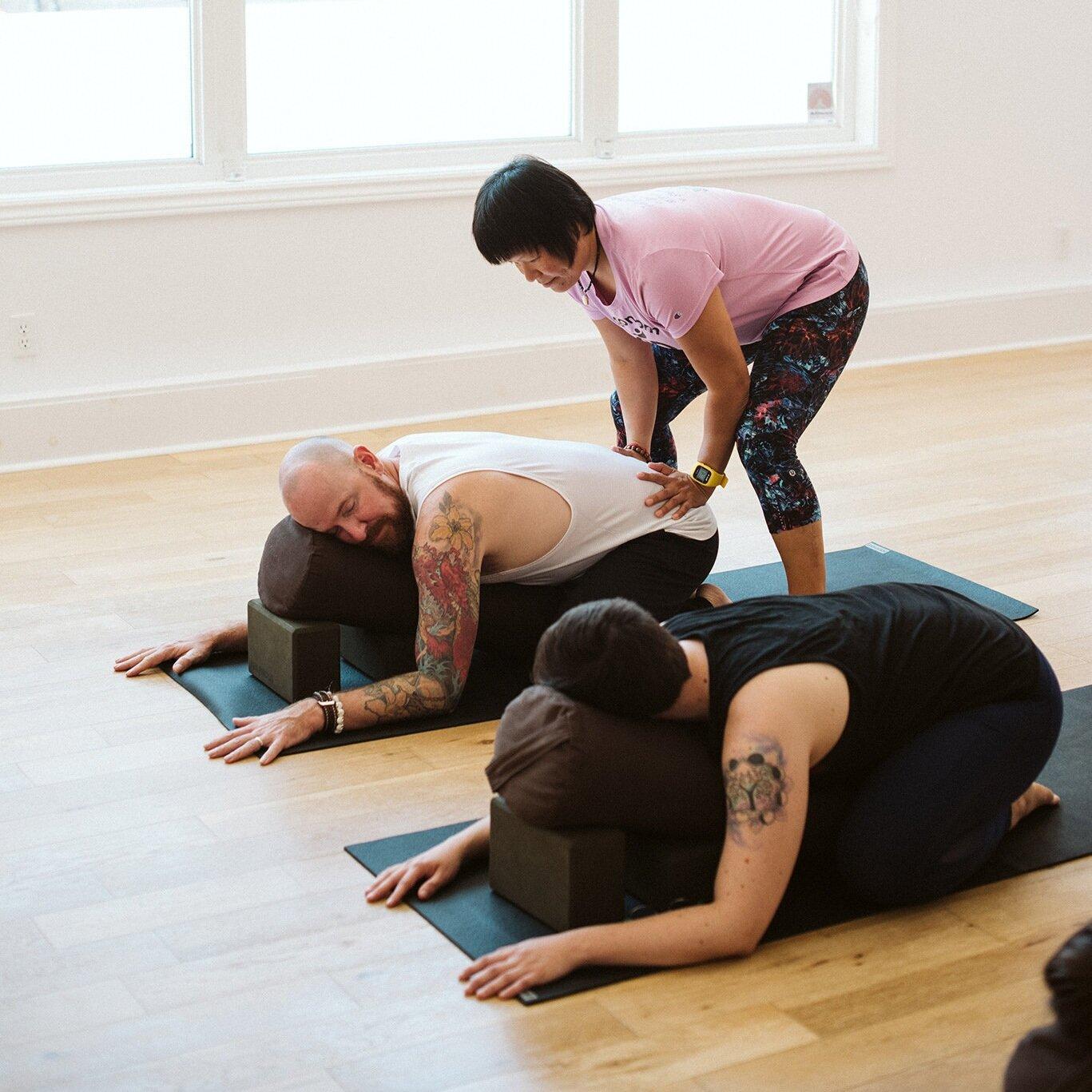 beginners yoga training