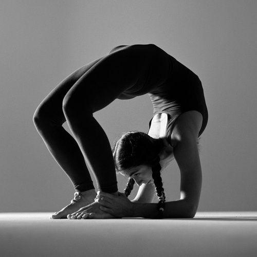 Chakra Bond Pose - yoga poses for women