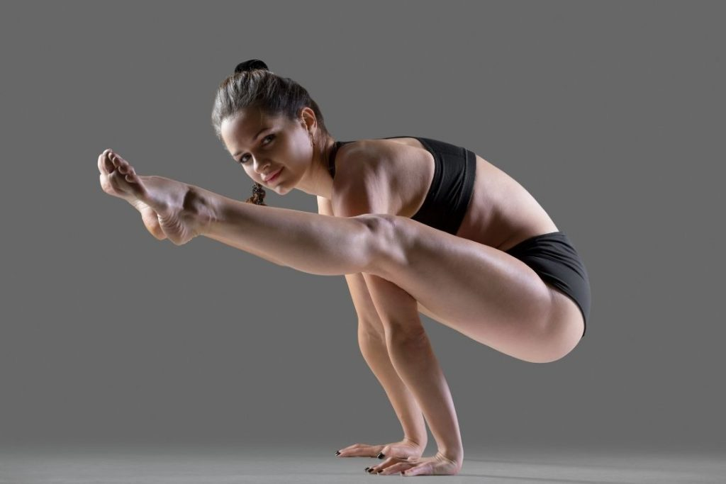 Firefly Pose - yoga poses for women