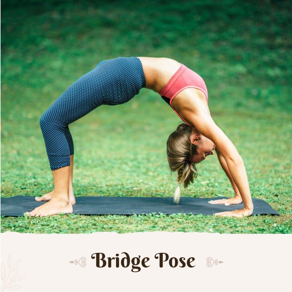 Bridge Pose for depression