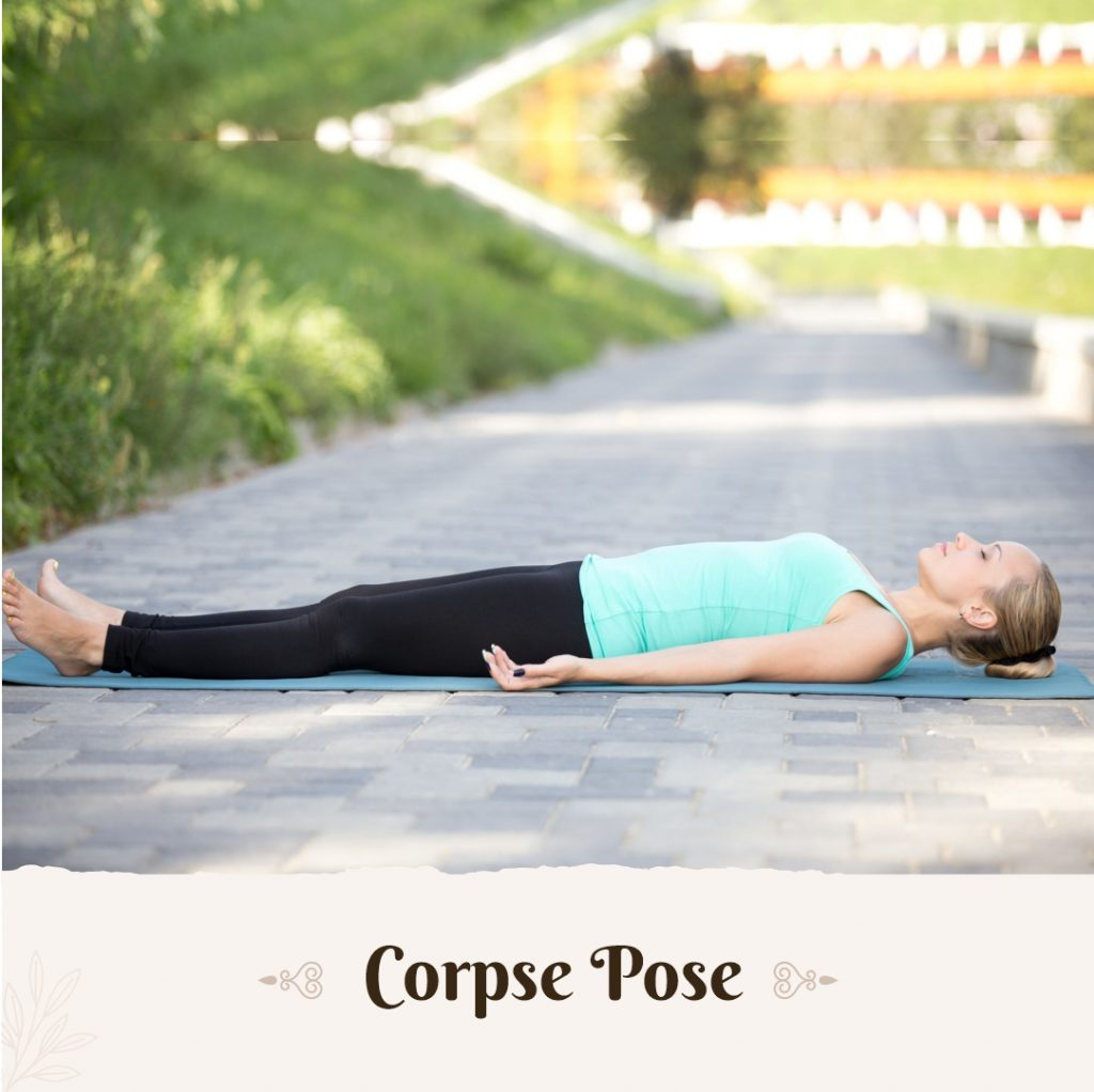 Corpse Pose for beginners