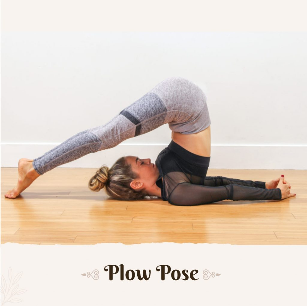 Plow Pose for depression