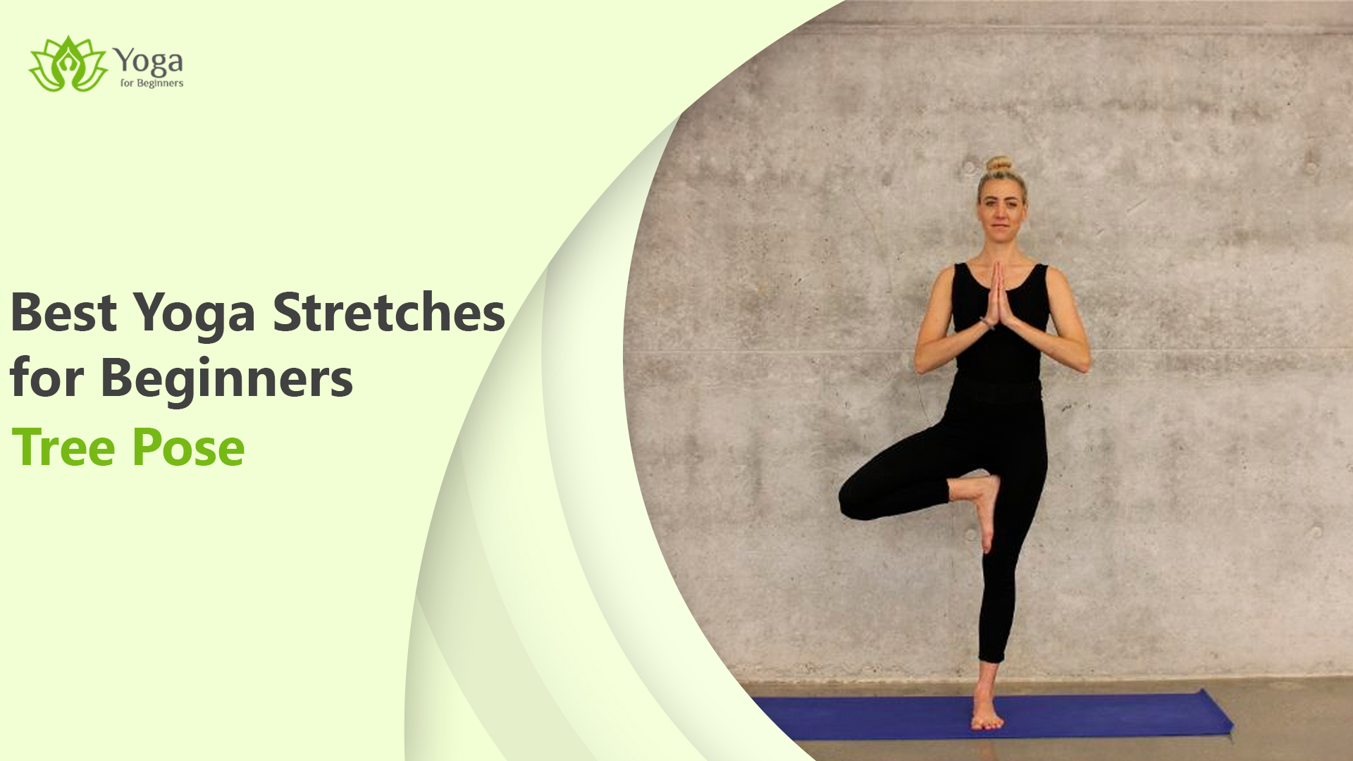 Tree pose: Yoga stretch for beginners