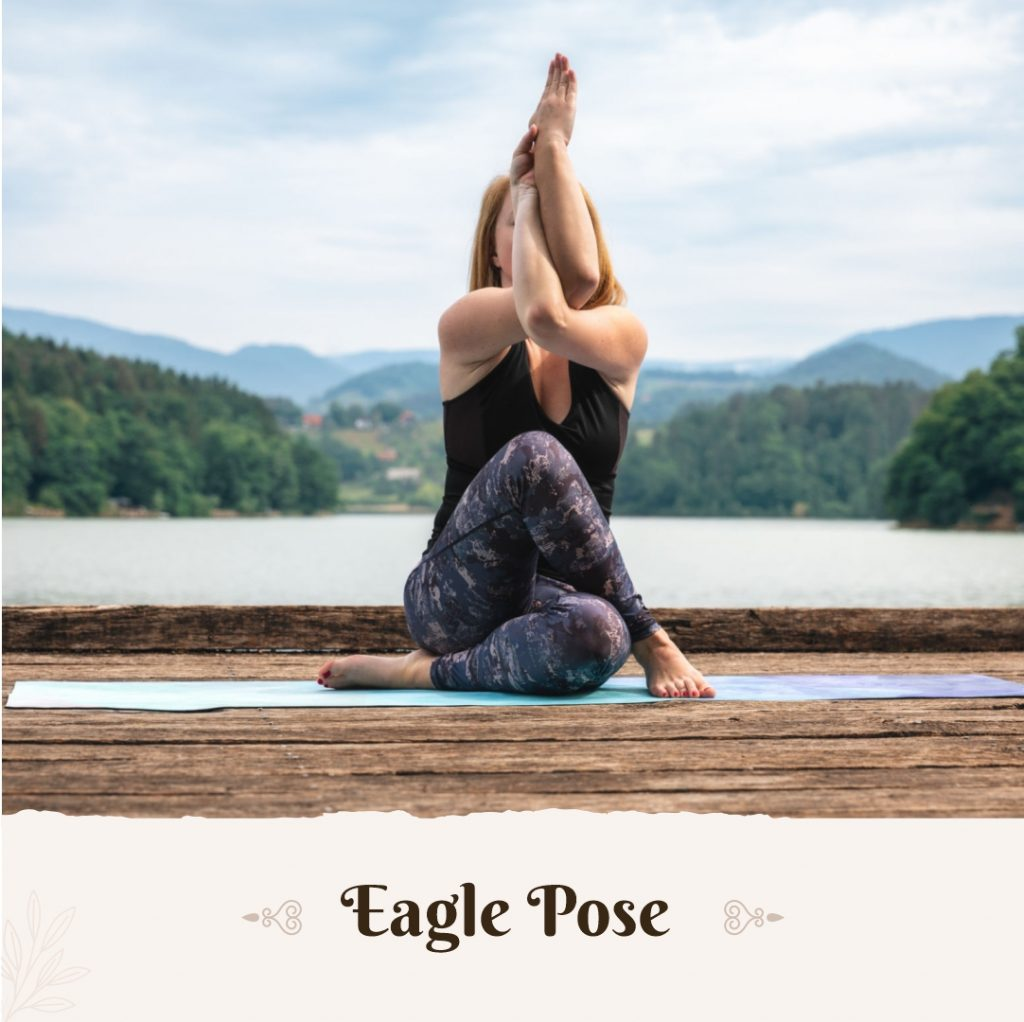 Eagle Pose for beginners
