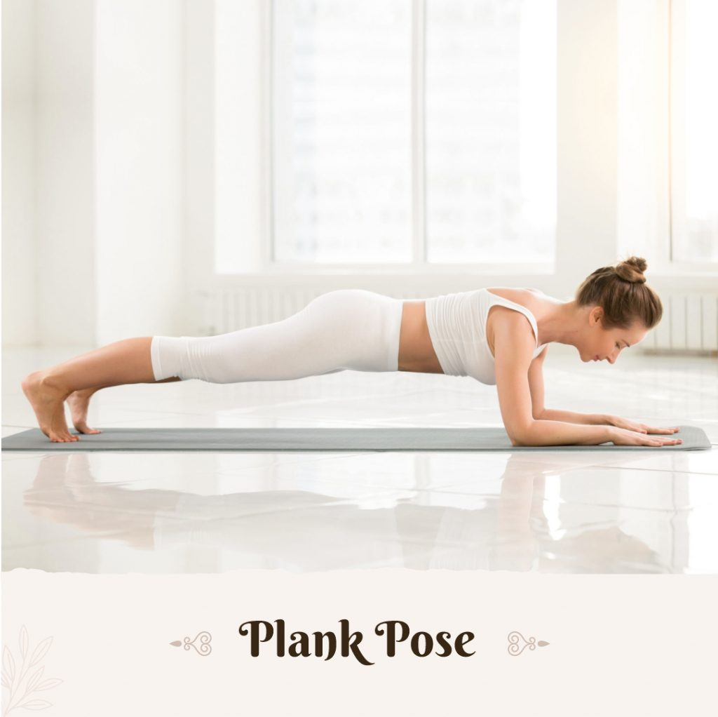 Plank Pose for beginners