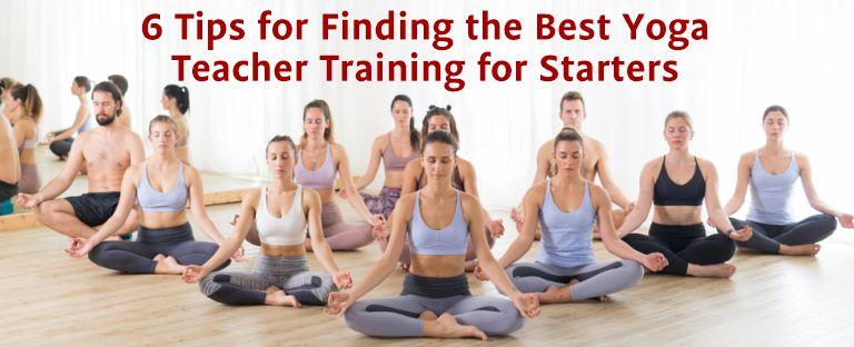best yoga teacher traning for starters