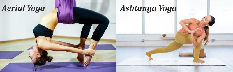 aerial and ashtanga yoga