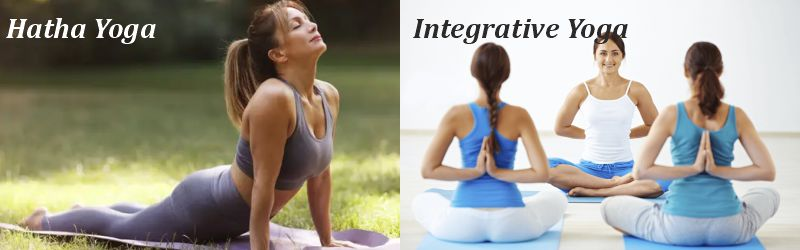 hatha and integrative yoga