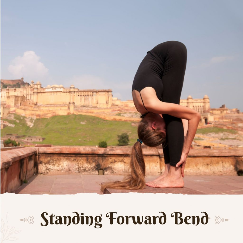 Forward Bend poses for beginners